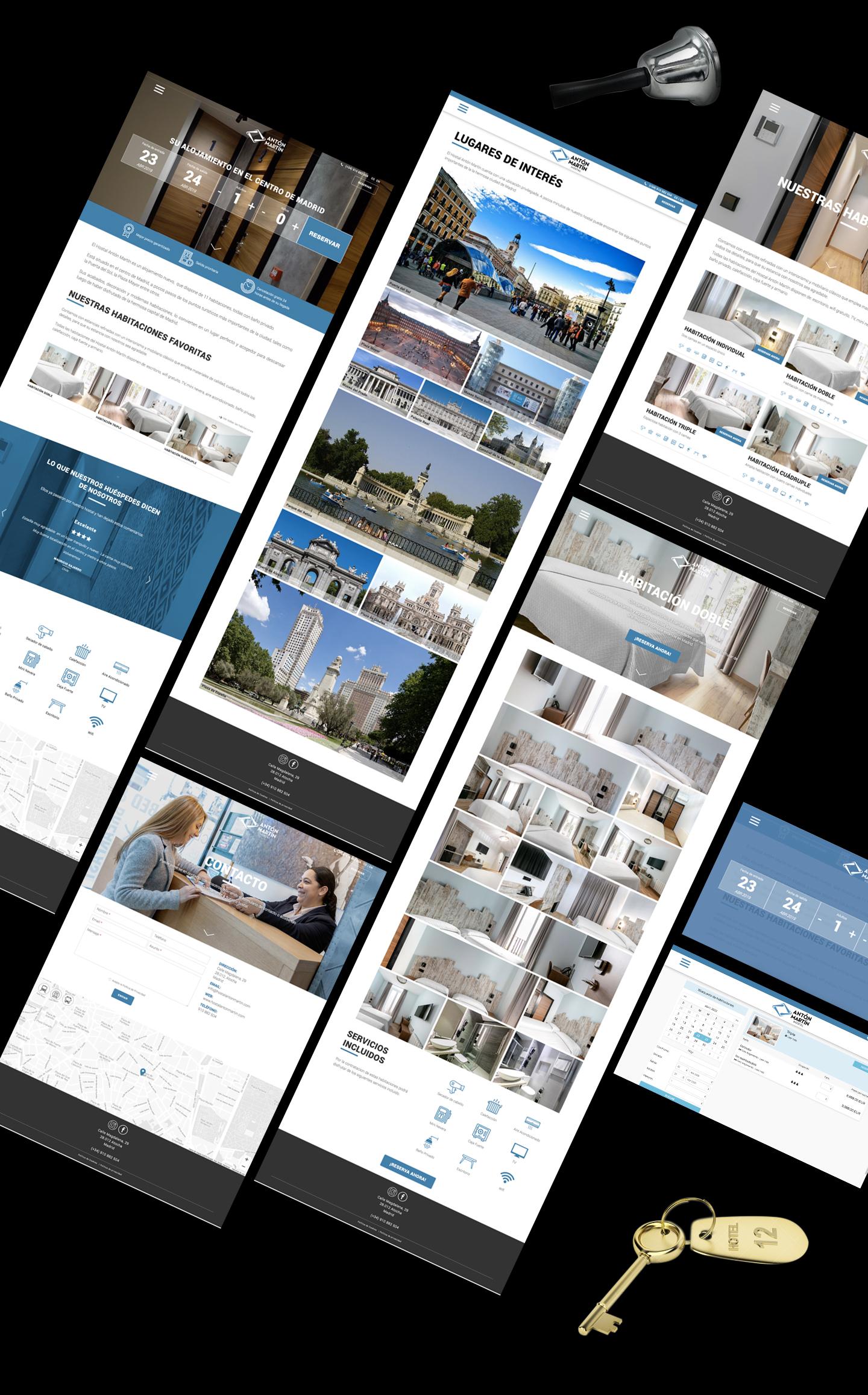Diseño y desarrollo de página web a medida.