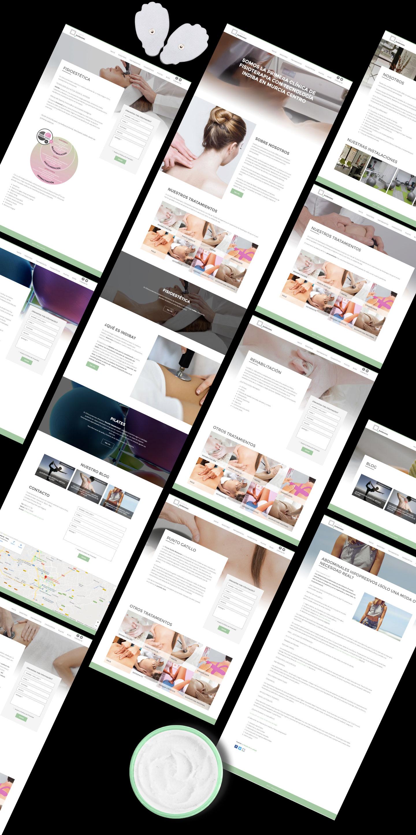 Estudio de diseño web para fisioterapeutas. Programador de páginas web freelance en Murcia, Madrid y Panamá City - PTY | Nómadas Comunicación Creativa