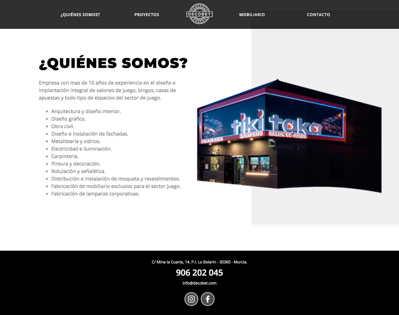 Diseño y programación de páginas web corporativas en Murcia, Madrid y Panamá City - PTY | Nómadas Comunicación Creativa
