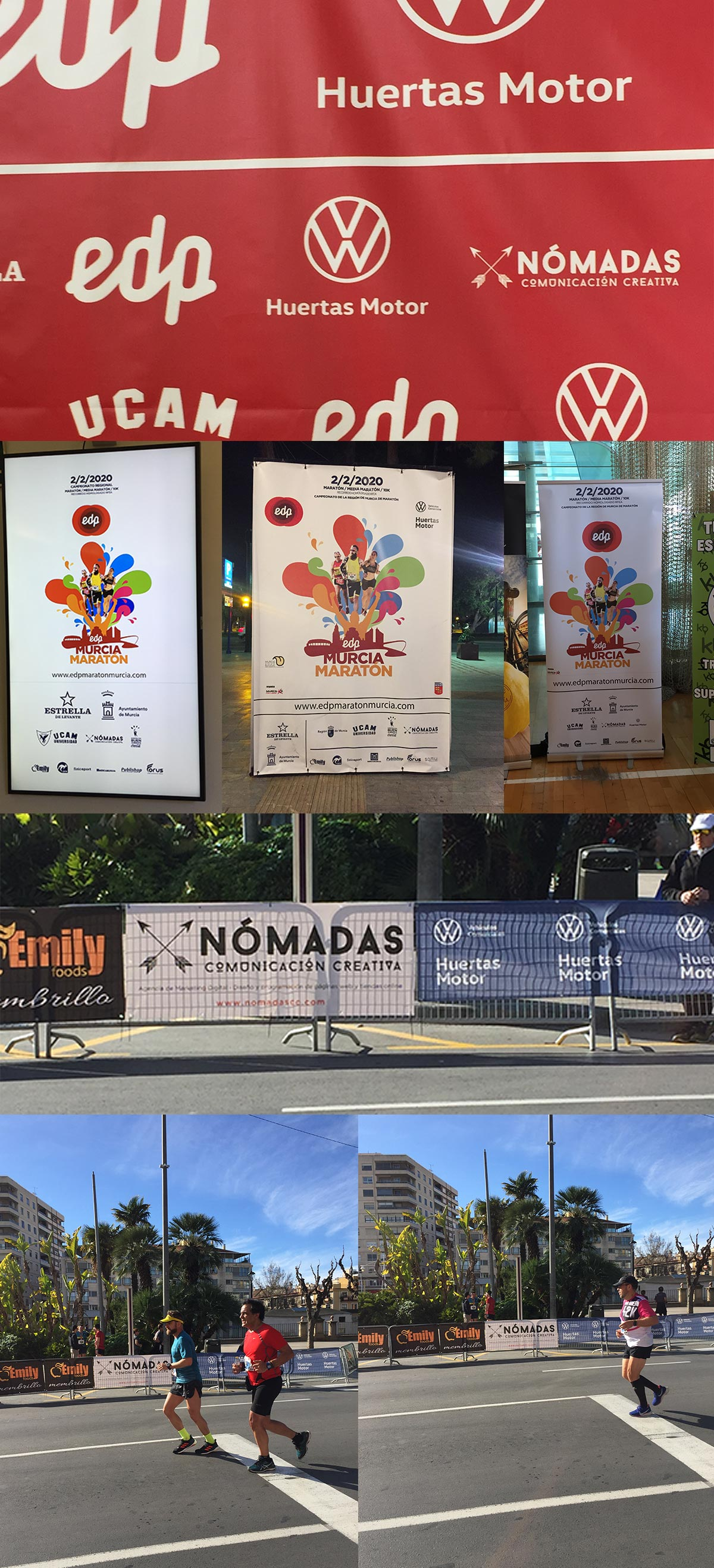 Patrocinador de la EDP Murcia Maratón. Agencia de Marketing Digital en Murcia | Nómadas Comunicación Creativa.