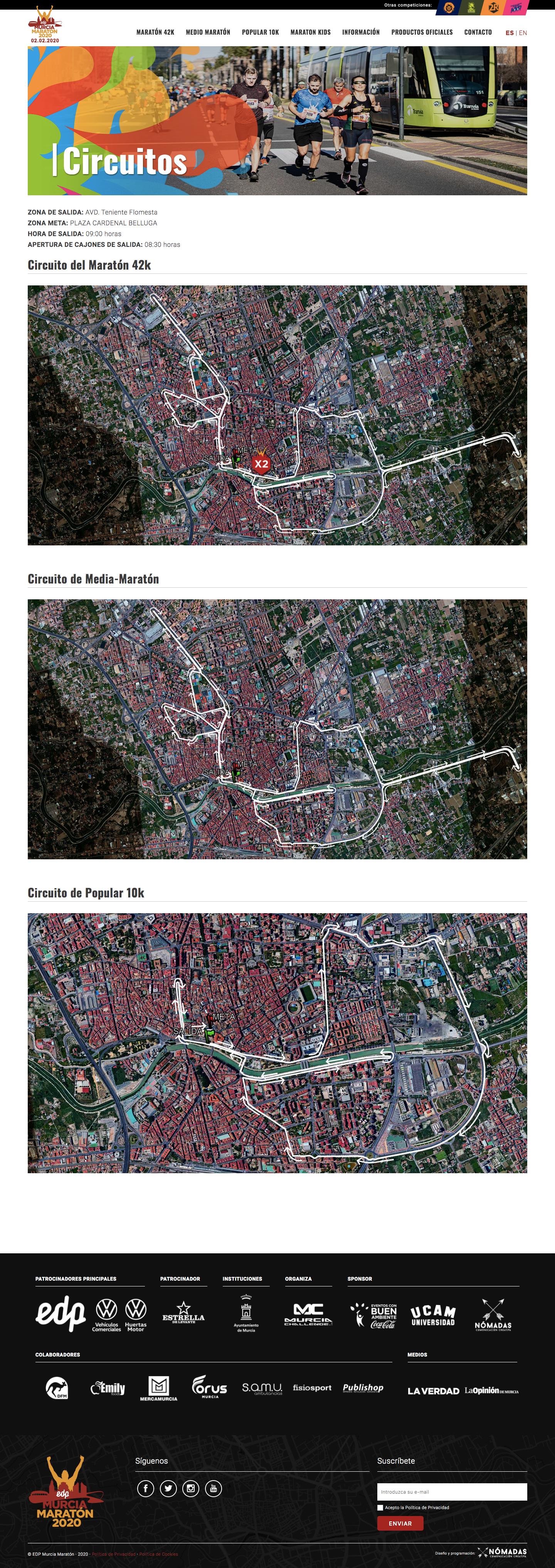 Desarrollador freelance de páginas web a medida en Murcia. Programación web freelance en Murcia y Madrid. | Nómadas Comunicación Creativa.