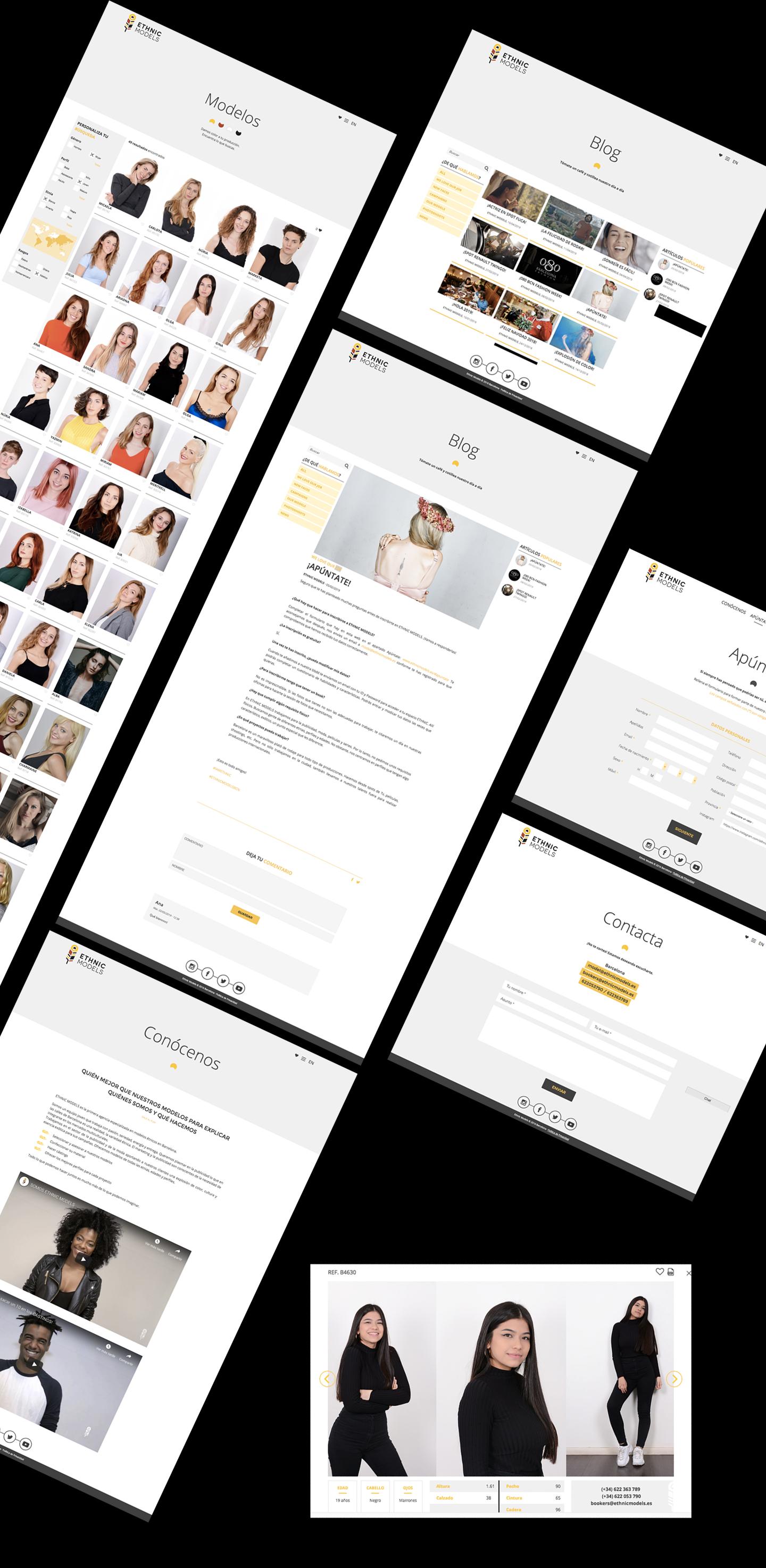 Diseño de web a medida en Barcelona, Murcia, Madrid y Panamá City | Nómadas Comunicación Creativa.