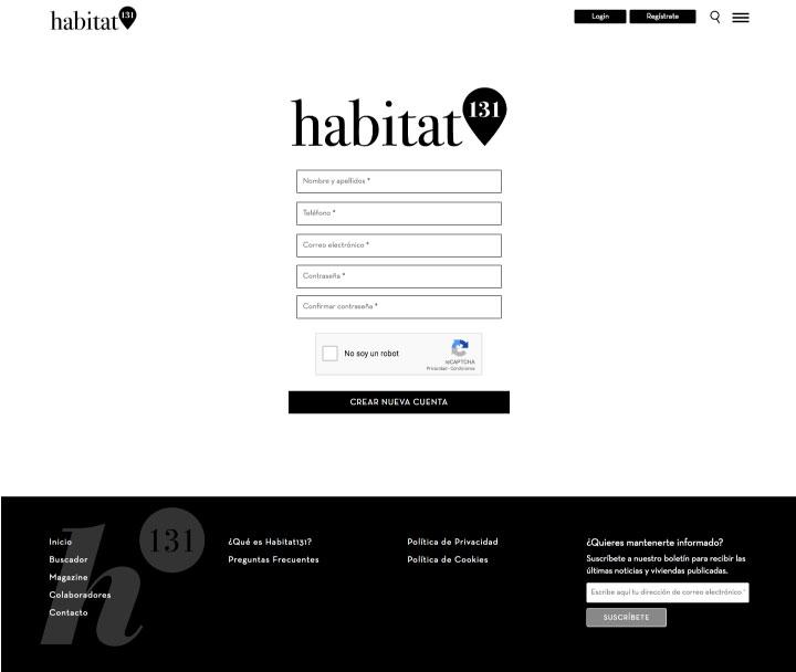 Diseño de páginas web para portal inmobilidario en Murcia, Madrid y Panamá City | Nómadas Comunicación Creativa