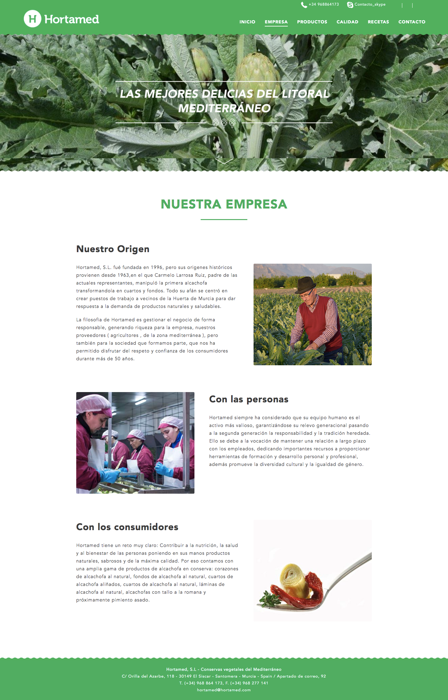 Agencia de marketing digital para empresas del sector hortofrutícola de Murcia, Madrid y Panamá City | Nómadas Comunicación Creativa