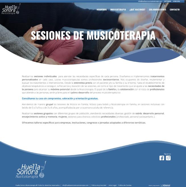 Diseñador freelance de páginas web a medida para salón de Manicuras y pedicuras en Murcia, Madrid y Panamá City - PTY | Nómadas Comunicación Creativa