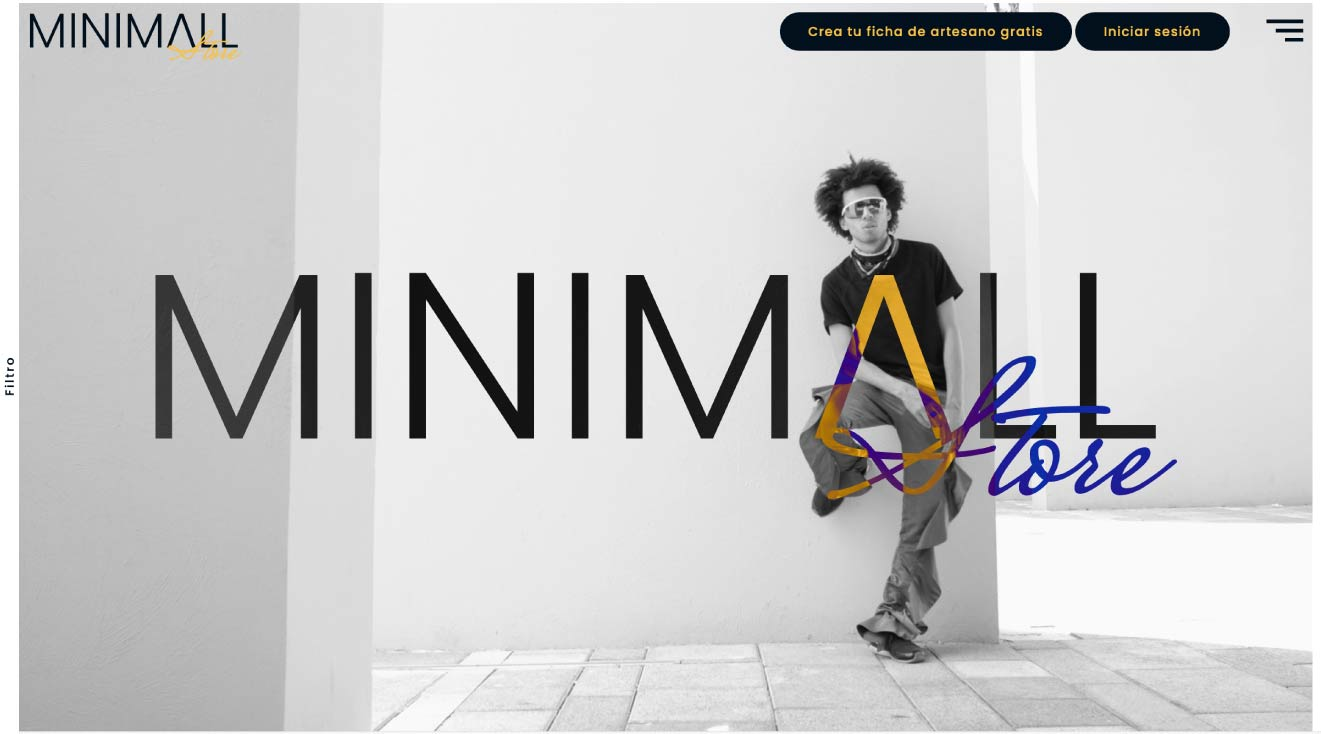 Diseño de portal de venta online en Murcia, Madrid y Panamá City | Nómadas Comunicación Creativa.