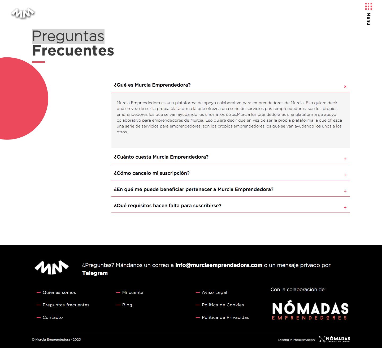 Diseño web a medida en Murcia, Madrid y Panamá City | Nómadas Comunicación Creativa