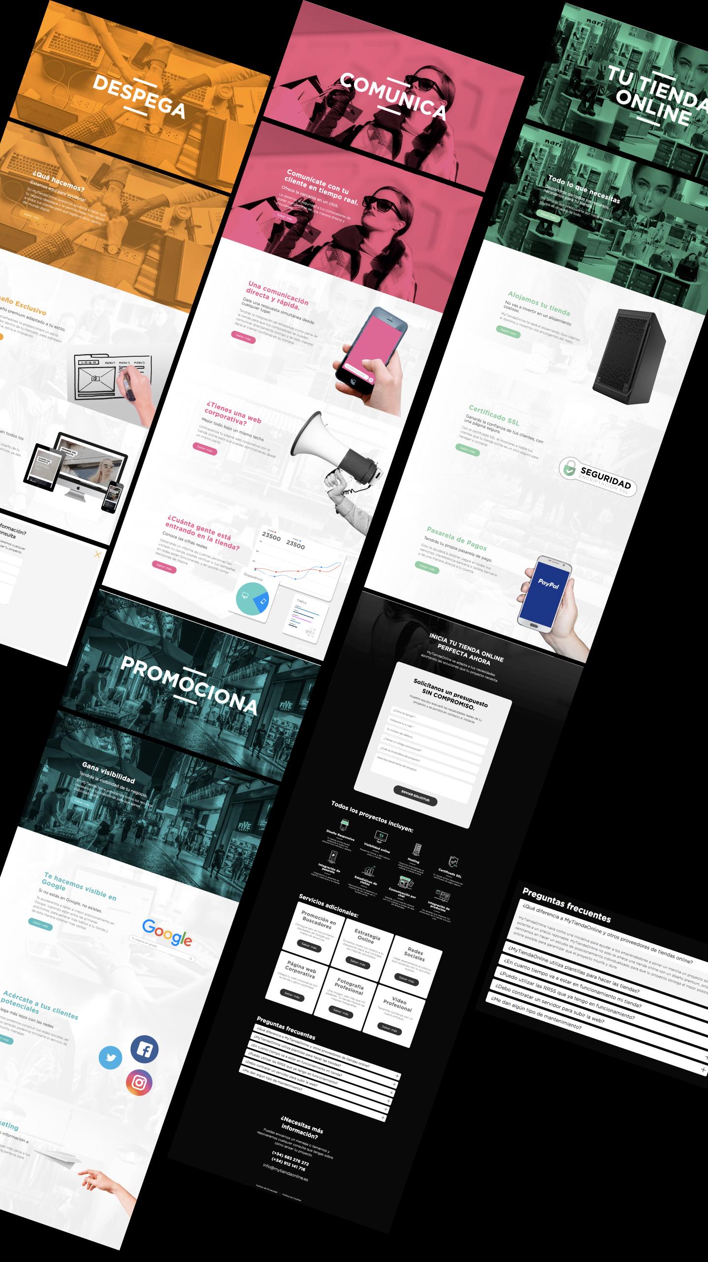 Estudio de diseño. Programación de tiendas online en Murcia. Programador freelance en Murcia, Madrid y Panamá City - PTY | Nómadas Comunicación Creativa
