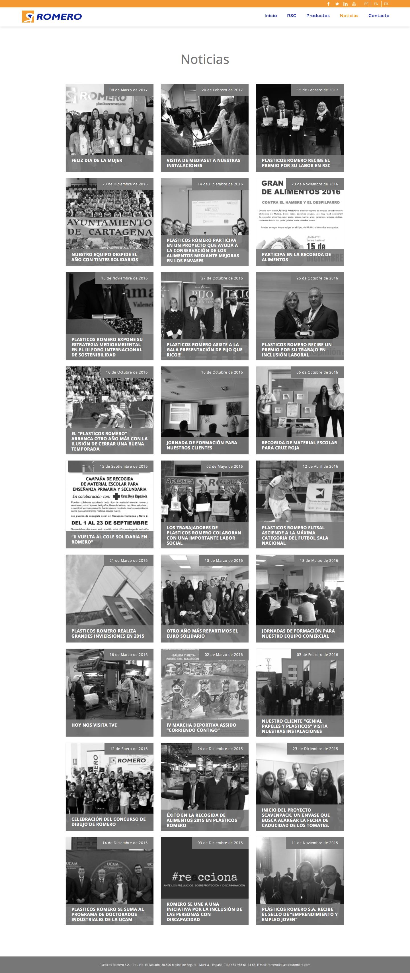 Programación de web corporativa en Murcia, Madrid y Panamá City | Nómadas Comunicación Creativa