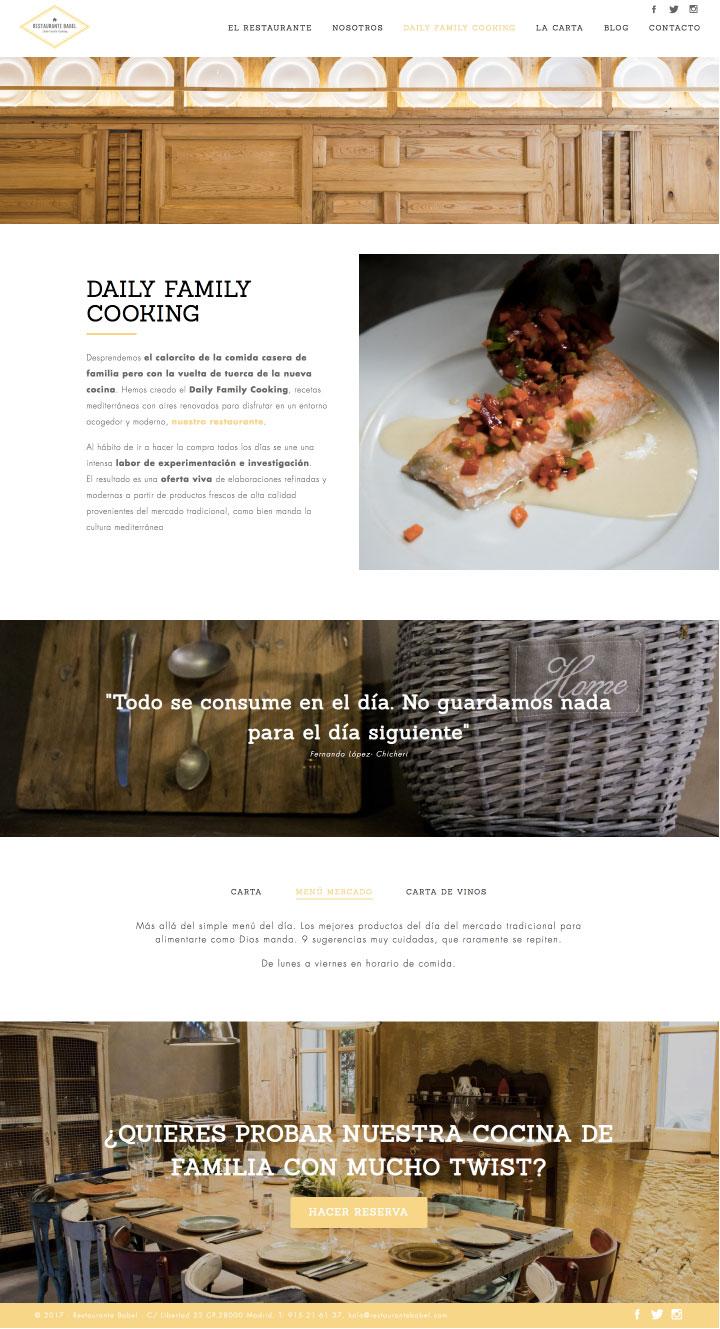 Programación web freelance en Madrid para restaurantes. Diseño para restaurantes en Murcia, Madrid y Panamá City | Nómadas Comunicación Creativa