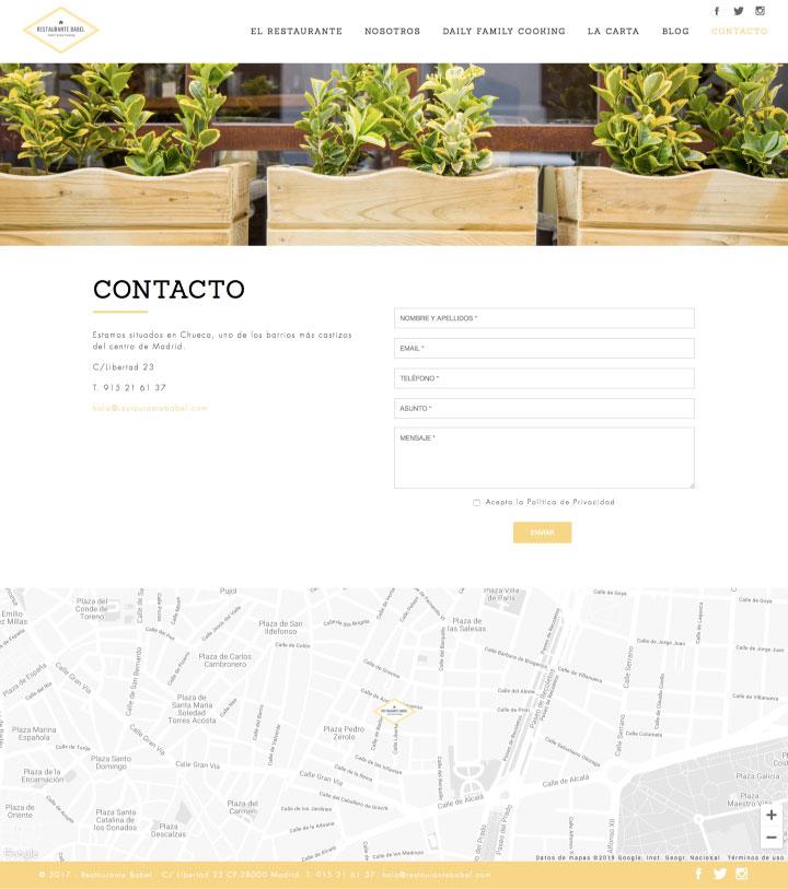 Diseño de página web a medida en Murcia, Madrid y Panamá City | Nómadas Comunicación Creativa.
