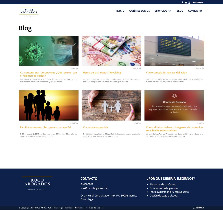 Diseñador freelance de páginas web a medida en Murcia, Madrid y Panamá| Nómadas Comunicación Creativa.