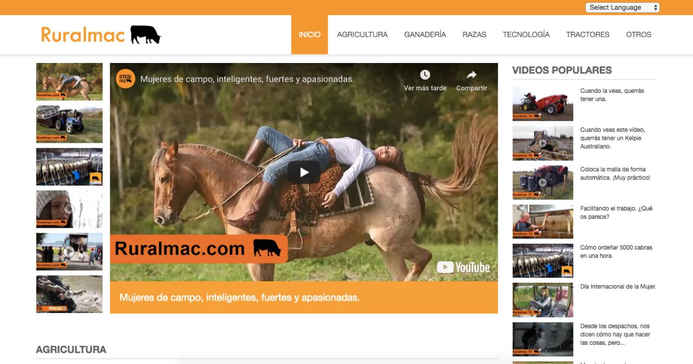 Diseño web a medida en Murcia, Madrid y Panamá City - PTY | Nómadas Comunicación Creativa. Portal desarrollado a medida en Drupal por un progrador web freelance.