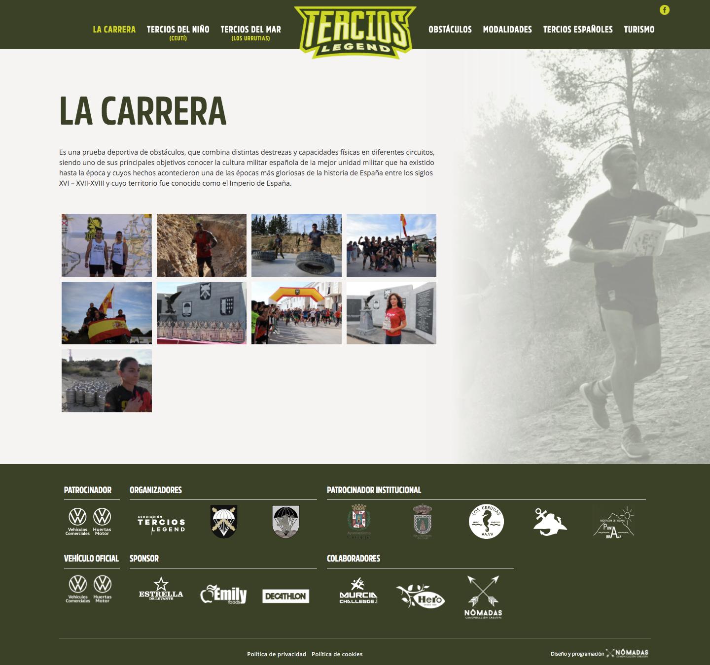 Páginas web corporativas a medida en Murcia y Madrid | Nómadas Comunicación Creativa.