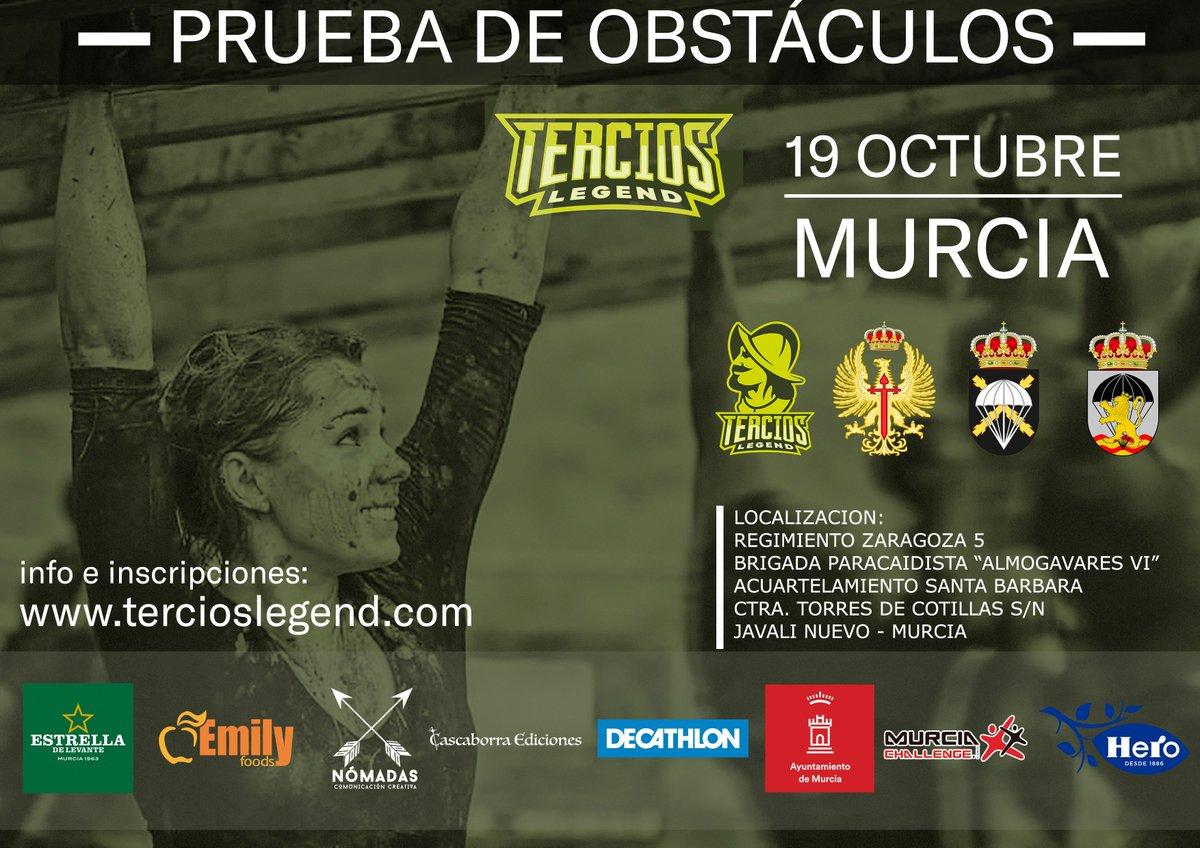 Patrocinador de Tercios Legend Murcia. Desarrollador de la página web de Tercios Legend.  | Nómadas Comunicación Creativa.