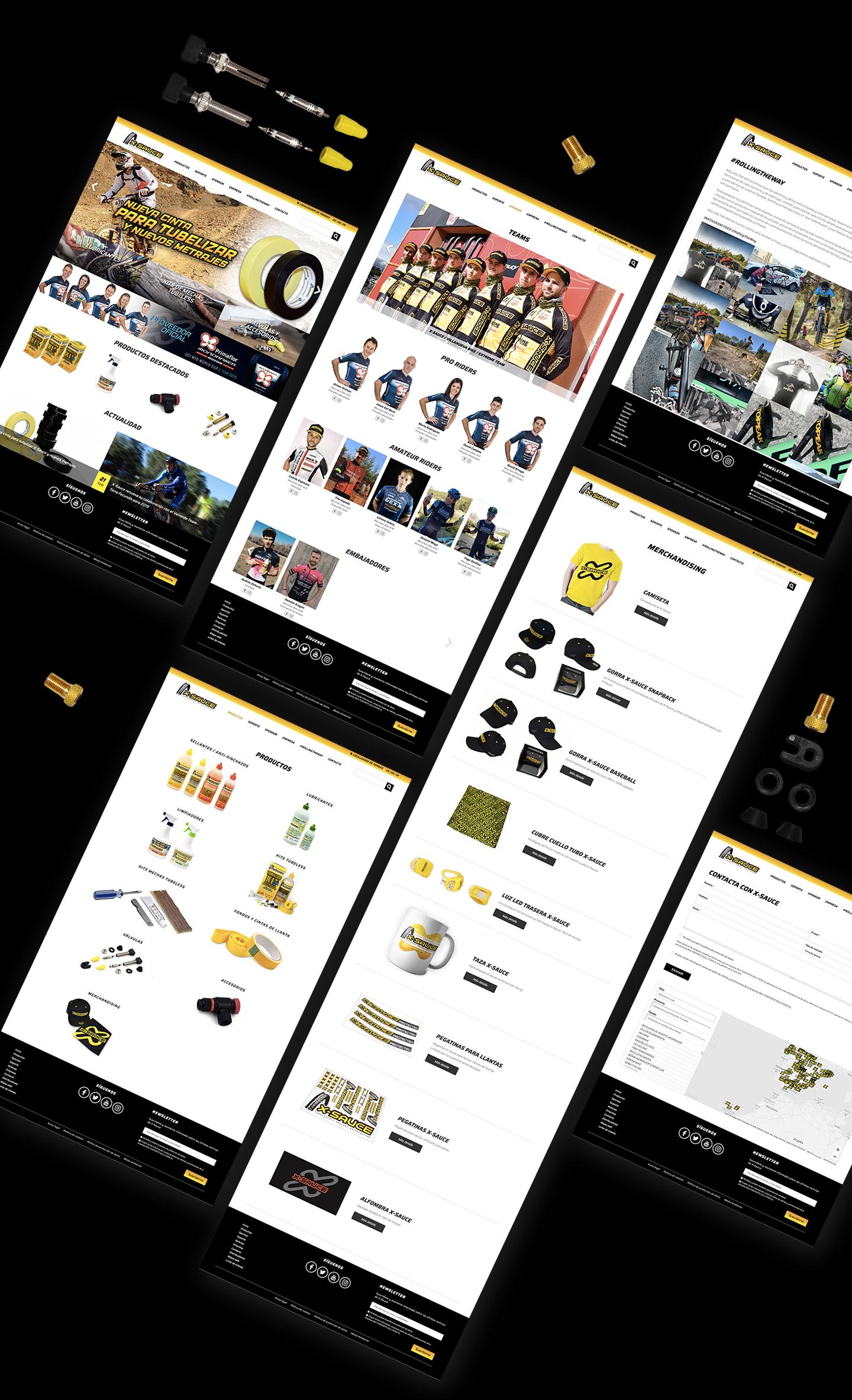 Diseño de páginas web corporativas a medida. Estudio de diseño en Murcia, Madrid y Panamá City | Nómadas Comunicación Creativa.