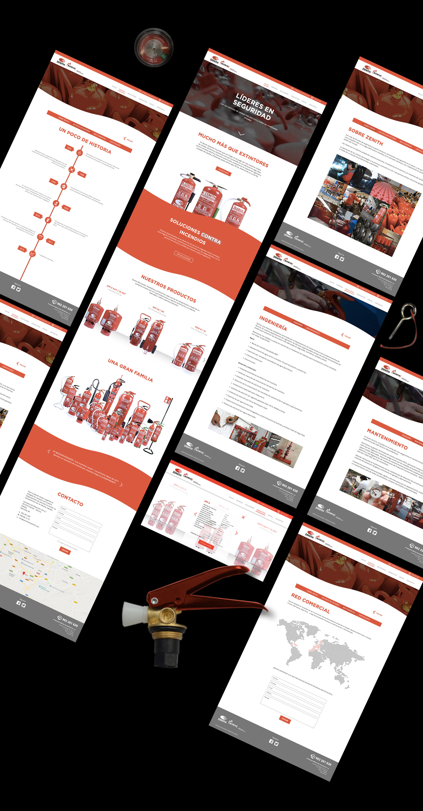 Estudio de diseño. Diseño de página web freelance y a medida en Murcia, Madrid y Panamá City | Nómadas Comunicación Creativa